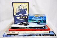 TITANIC Ultimate Enthusiast's Collection - Books Facsimiles Newspaper Postcards+