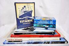 TITANIC Ultimate Enthusiast's Collection - Books Facsimiles Newspaper Postcards+