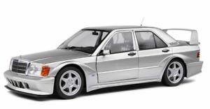 Mercedes 190 E Evo 2 II 2.5 Evoluzione Argento Silver 1:18 Solido Stradale 🤩🤩