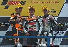 Randy de Puniet Hand Signed Repsol Aprilia 250cc 2005 12x8 Photo 3.