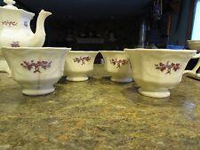 Antique Chelsea Ironstone lot of 4 teacups - Deblot