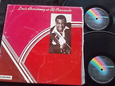 LOUIS ARMSTRONG At The Crescendo 2LP VG++