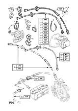 GENUINE Opel / Vauxhall ASTRA F  Speedometer Cable 90442802
