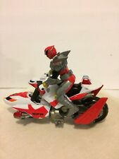 2004 BANDAI POWER RANGERS SPD SPACE PATROL BIKE, RED,