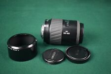 Minolta Maxxum AF zoom 100-300mm f/4.5-5.6 lens with caps and hood - sony
