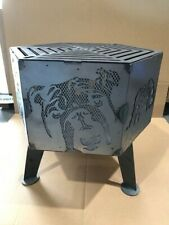 Bulldog  hexagonal fire pit with no grill*