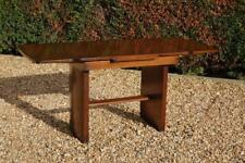 Vintage Draw Leaf Extending Refectory Dining Table 1960's