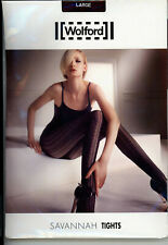 Collant WOLFORD Savannah Tights– Taille L – Couleur terra – Neuf