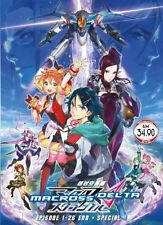 Macross Delta DVD (eps : 1 to 26 end + Special) with English Subtitle