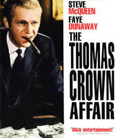 The Thomas Crown Affair (1968 Steve McQueen) BLU-RAY NEW