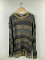 Cambridge Classics Vintage Men's Cosby Style Sweater / Jumper - Size Large