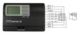 Coleman Mach 8330D3311 9-Series Black Zone Control Thermostat RV Comfort.ZC