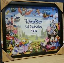 Disney Parks Storybook Shadowbox 5 x 7 Photo Frame - Mickey Donald Stitch