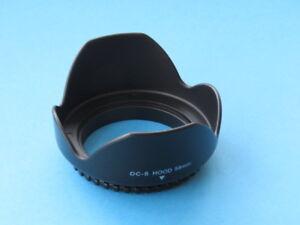 58mm Lens Hood 58mm Flower For Nikon AF-P DX Nikkor 70-300mm F4.5-6.3G Lens