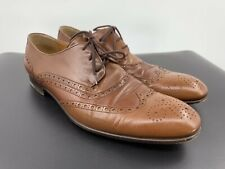 Gucci Wingtip Oxford Shoes For Men Size 10.5 EU/ 11.5 USA Made In Italy