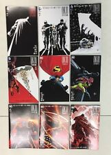 DARK KNIGHT III DK3 MASTER RACE #1-9 COMPLETE SET REGULAR COVER BATMAN