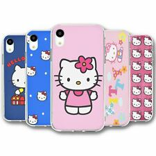 For iPhone XR Silicone Case Cover Hello Kitty Collection 1