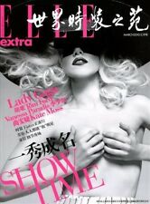 Elle China Magazine March 2010 fashion women music 12 pages of LADY GAGA