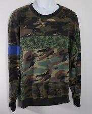 Diesel Mens Camoflauge Sweater Size XL