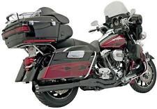 A37Bassani Straight Exhaust System Black Ceramic for Harley-Davidson