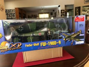 Ultimate Soldier XD 1/18 Focke-wulf 190D-9 New Unopened Mint Extra Decals. Rare