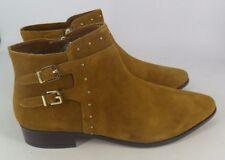 Next Tan Suede Ankle Boots UK 8 EU 42 rrp£60 JS42 38