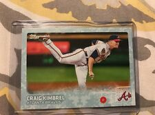 2015 Topps Series 2 Snow Camo #595 Craig Kimbrel 79/99 Atlanta Braves