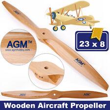 AGM 23×8 LEGNO dell'elica Prop aeroplano in legno Prop Elica per RC Aerei
