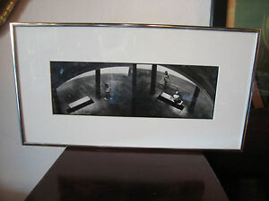 Contemporary Black & White Framed Photograph People from Higher Ground