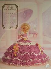Annie's Attic Fashion Bed Doll Miss May Crochet Pattern 1992 Cotillion