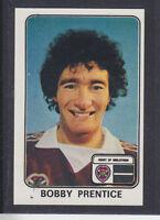 Panini - Football 79 - # 490 Bobby Prentice - Hearts