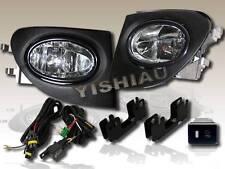 2002-2005 HONDO CIVIC SI EP3 HB JDM/OEM CLEAR BUMPER FOG LIGHT LAMP+WIRE+SWITCH