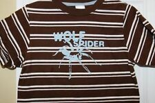 Gymboree ~ Brown Stripe Short Sleeve Tee Shirt Top ~ Wolf Spider ~ kid Size 4
