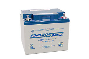 Pihsiang 109101-89203-50p sealed replacement NEW battery, Powersonic