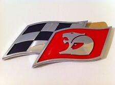 HSV VE VF RED Checkered Flag Badge CLUBSPORT R8 SENATOR GTS MALOO GENUINE NEW