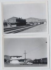 2 1965 Kamloops British photos Columbia CPR & CNR Station vintage  photos
