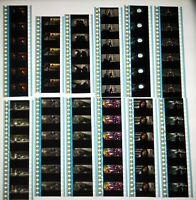 Iron Man 2 Marvel Movie 60 x 35mm Genuine Film Cells 12 x Strips Cinema Reel C