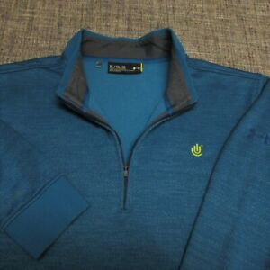 UNDER ARMOUR THERMALSOFT POLY 1/4 ZIP GOLF PULLOVER--XL----SPOTLESS QUALITY