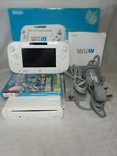 Nintendo Wii U 8GB Console Handheld System White And Game