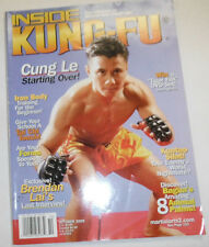 Inside Kung-Fu Magazine Cung Le & Tai Chi Touch October 2005 101714R1