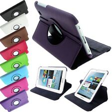 """LUXURY PU LEATHER ROTATING STAND CASE COVER FOR SAMSUNG GALAXY TAB2 7.0"""" P3100"""