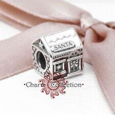 Pandora, S925 Santa's Home Bracelet Charm, NEW, 792003ENMX
