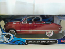 """MAISTO """"SPECIAL EDITION"""" 1949 FORD CONVERTIBLE (DARK RED) 1/18 DIECAST"""