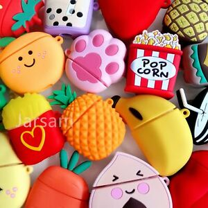3D Cute Cartoon Silicone Airpod Protective Case Cover Skin For Apple Airpod 1/2