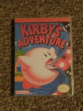 Kirby's Adventure Nintendo (NES)  game with manual & custom case!