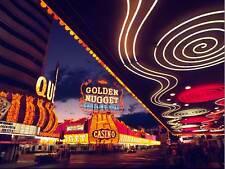 Cityscape Neón Nevada Casino de Las Vegas Cartel Art Print 30X40 cm BB3054B