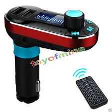 Kit Auto Vivavoce Bluetooth trasmettitore FM MP3 Lettore caricabatterie USB AUX