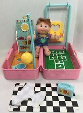1996 MATTEL Cabbage Patch Love 'n Go SCHOOL & PLAYGROUND Sand Box #20J