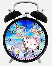 "Hello Kitty Alarm Desk Clock 3.75"" Home or Office Decor Z59 Nice For Gift"