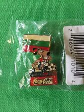 Vintage World Cup USA Coca-Cola 1994 Lapel Pin Bulgaria Dog Mascot Soccer